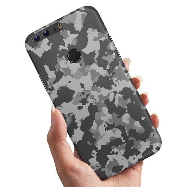 Huawei Honor 8 - Skal / Mobilskal Kamouflage