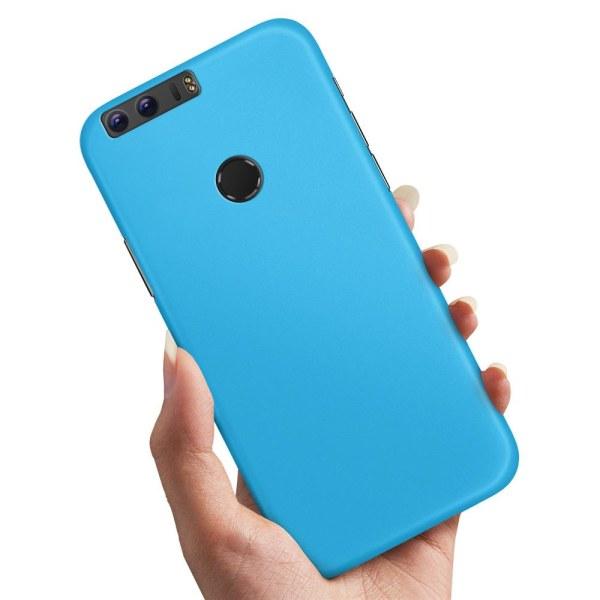 Huawei Honor 8 - Skal / Mobilskal Ljusblå Ljusblå