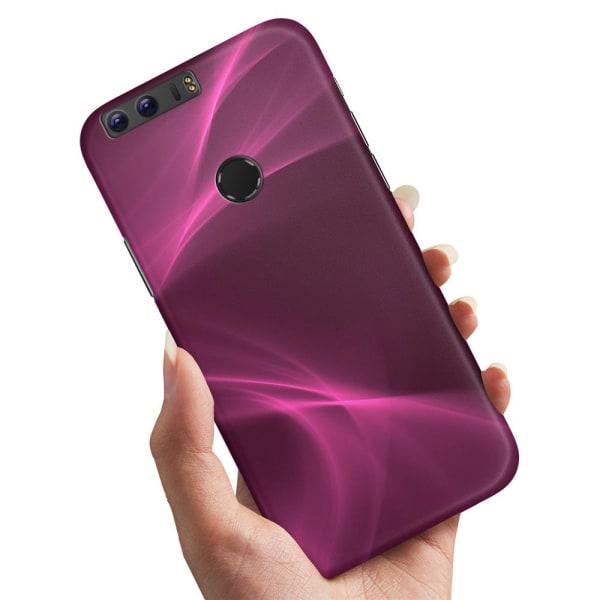 Huawei Honor 8 - Skal / Mobilskal Purple Fog