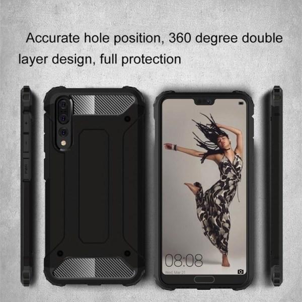 Huawei P20 Pro - Skal / Mobilskal Tough - Flera färger Svart