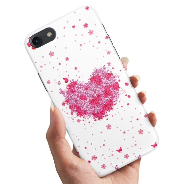 iPhone 6/6s Plus - Skal / Mobilskal Blomhjärta