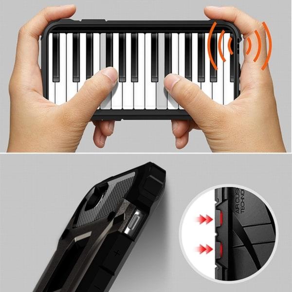 iPhone 6/6s - Skal / Mobilskal Tough - Svart Svart