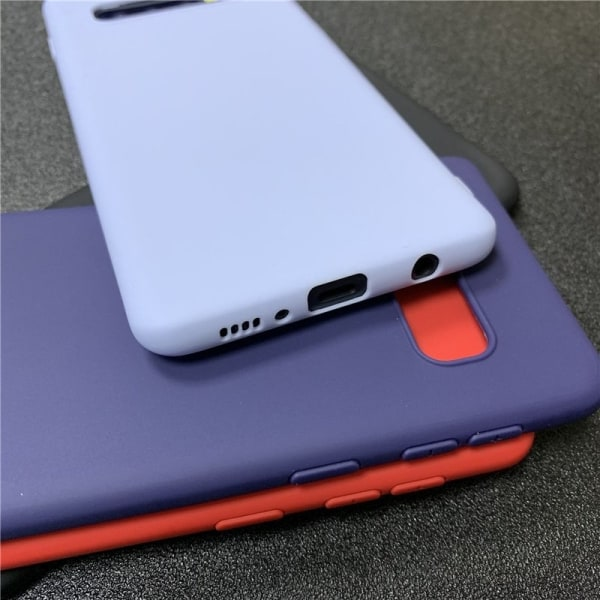 Samsung Galaxy A10 - Skal / Mobilskal Lätt & Tunt - Svart Svart