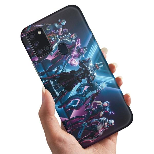 Samsung Galaxy A21s - Skal / Mobilskal Fortnite