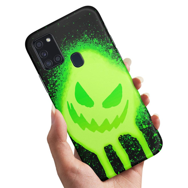 Samsung Galaxy A21s - Skal / Mobilskal Monster