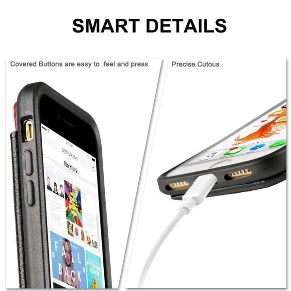 Samsung Galaxy A41 - Skal / Mobilskal Dolt Kortfack/Korthållare Svart