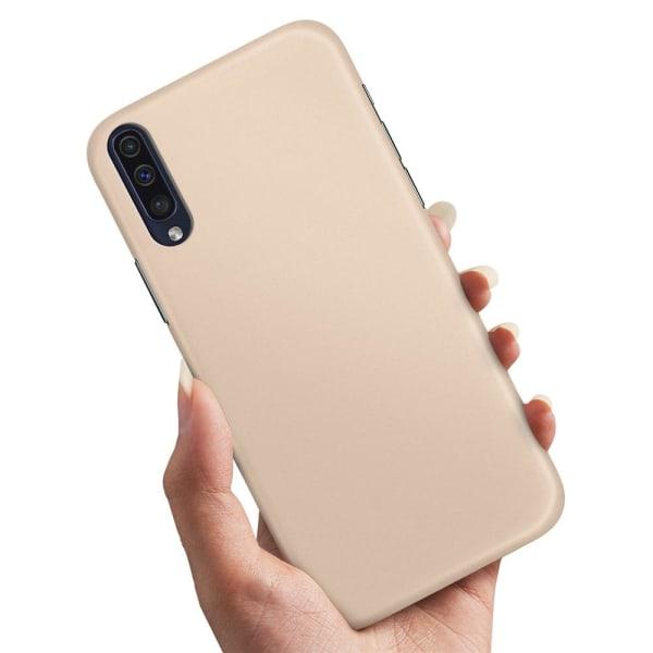 Samsung Galaxy A50 - Skal / Mobilskal Beige Beige