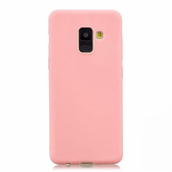 Samsung Galaxy A8 2018 - Skal / Mobilskal Lätt & Tunt - Ljusrosa Ljusrosa