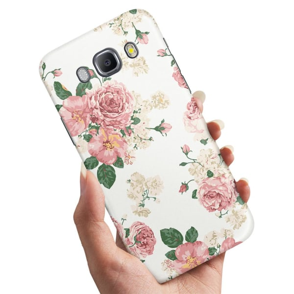 Samsung Galaxy J5 (2016) - Skal / Mobilskal Retro Blommor