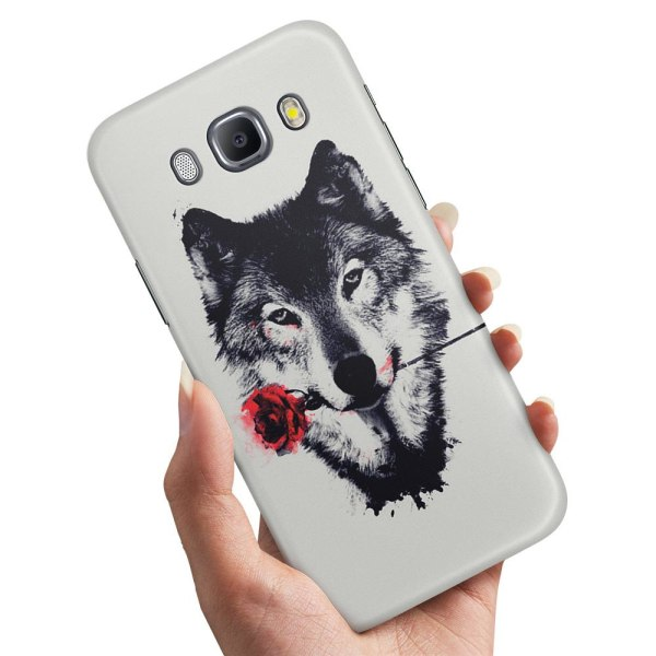 Samsung Galaxy J5 (2016) - Skal / Mobilskal Varg Ros