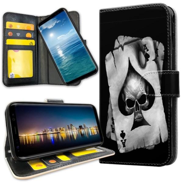 Samsung Galaxy S10 Plus - Mobilfodral Döskalle Kortlek