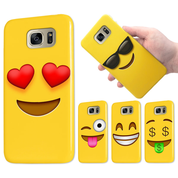 Samsung Galaxy S6 Edge Plus - Skal / Mobilskal Emoji - 15 Motiv 10