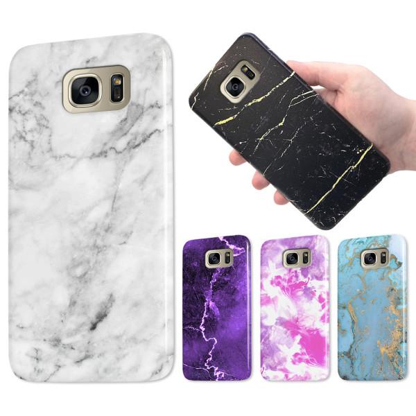 Samsung Galaxy S7 Edge - Marmor Skal / Mobilskal - Över 60 Motiv 25