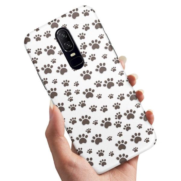 Sony Xperia 1 - Skal / Mobilskal Paw Pattern