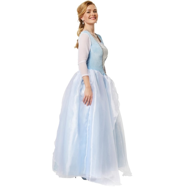 tectake Elegant prinsessklänning Cinderella Blue M