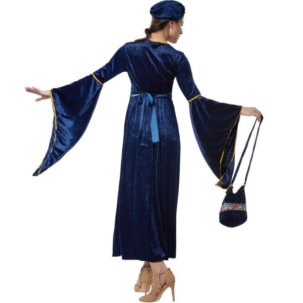 tectake Charmerande slottsjungfru Blue M