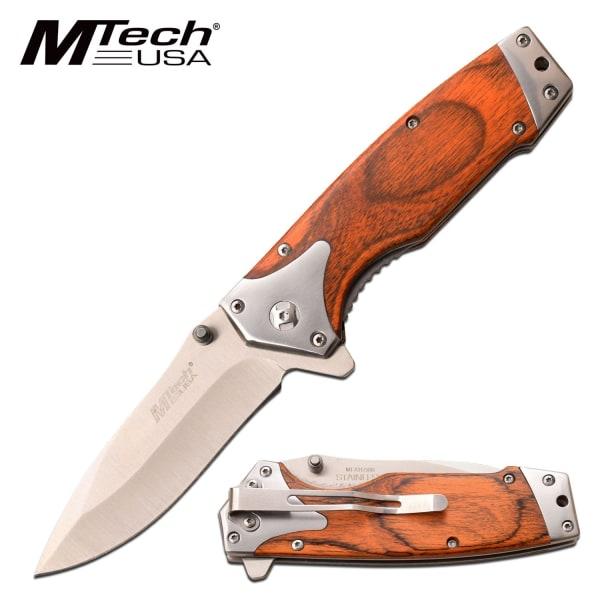 MTECH USA - MT -A1175BR - FORÅR ASSISTERET KNIV