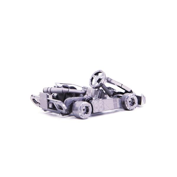 3D Pussel Metall - berömda fordon - go-cart