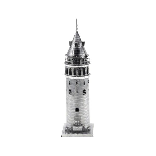 3D Metal Puzzle - Berømte bygninger - Galata Tower