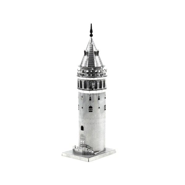 3D -metallipalapeli - Kuuluisia rakennuksia - Galata -torni