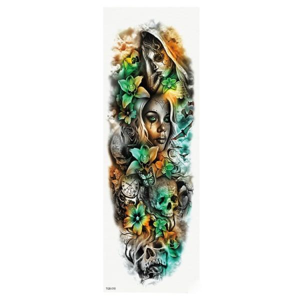 HUOMAA KOKO - 46 x 17 CM - Tatuointi - Dia de los Muertos
