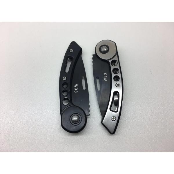 Klassisk Fickkniv - W33 svart - kniv fällkniv
