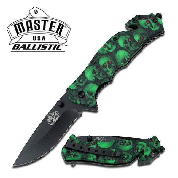 MASTER - A001 - Foldekniv Green
