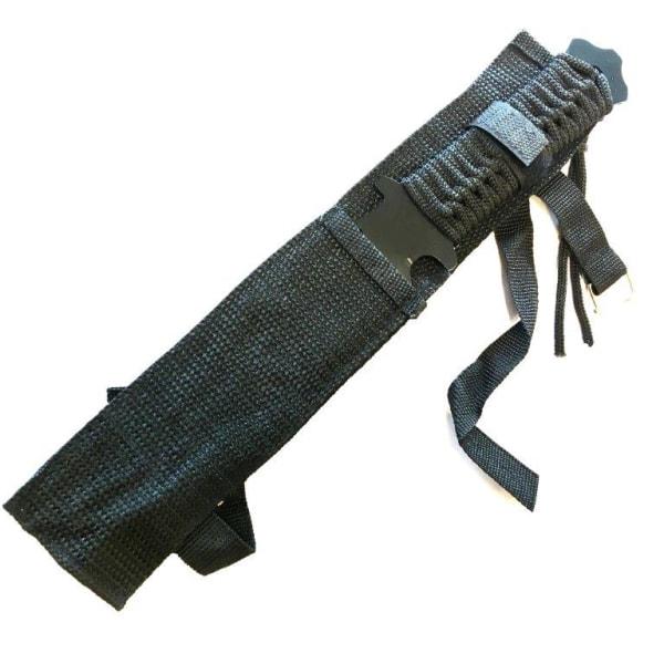 Kniv - överlevnadskniv 29cm svart