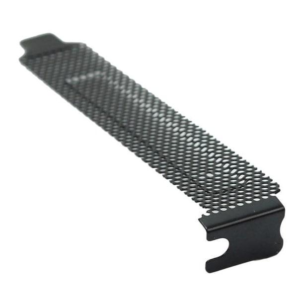 5st Datorskal Svart Mesh Hard PCI-chassispårskydd