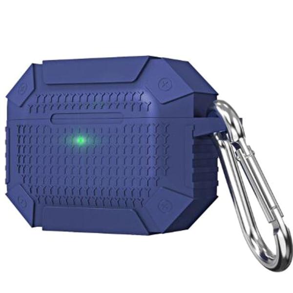 Airpods 3 Armor Headset Förvaringsbox Liten bärbar hörlur Royal blue