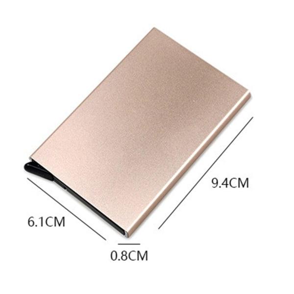 Automatisk popup-korthållare säkerhetsportabelt kort Universal Golden