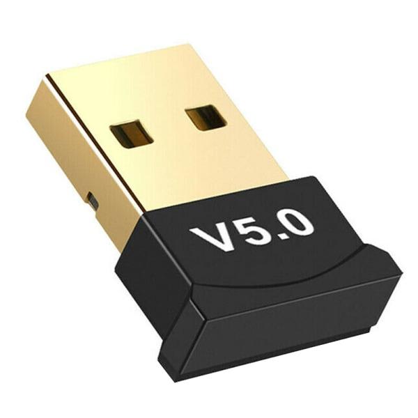 Bluetooth 5.0 stereo ljudöverföringsmottagare USB-dongeladapter