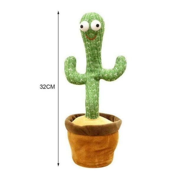 Cactus plyschleksaker som sjunger och dansar Cactus Electronic