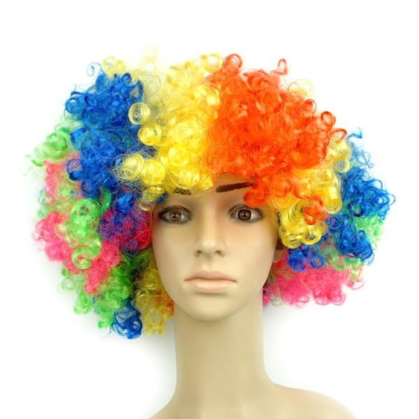 Mode 2020 Joker Mask Clown Peruker Yellow