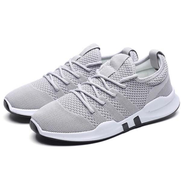 Mode Mens Sneakers Tränare Andas Pojkar Andas grey 40