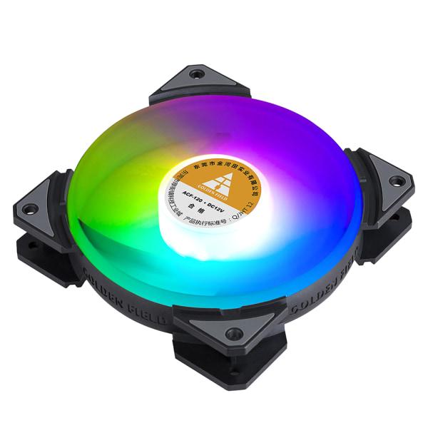 GULDFELT RGB-datorhölje Fläkt Inre kontroll tyst kylare