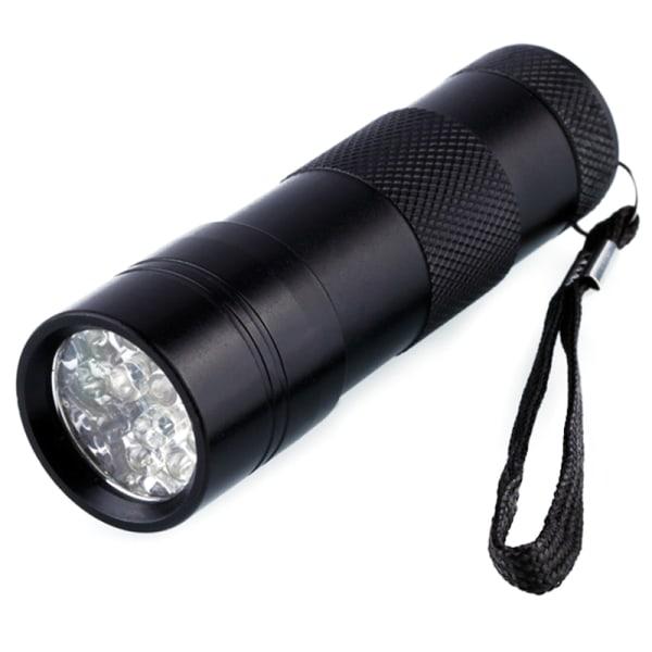 Hem Mini LED UV-ficklampa Effektiv applikation för flera domäner Black