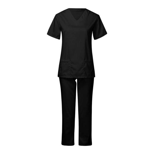 Ladies Pure Color Care Set Skyddande visir Ficka bärbar Black M