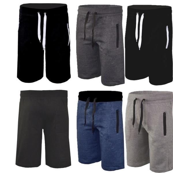 Herrmode dragsko Sport shorts Fritids sommar black M