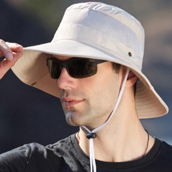 Mäns vandringskeps vattentätt solskydd Beige