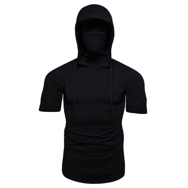 Huvtröjor med huva för maskerade män Black M