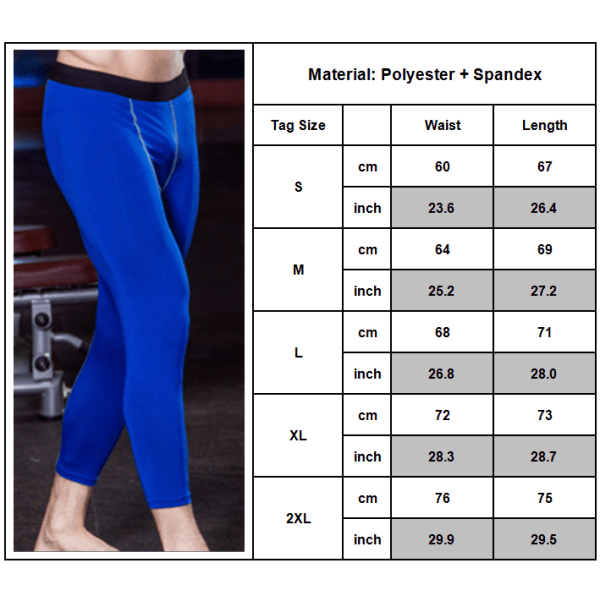 7-punktsbyxor för herrar, avslappnad sport, stretchig lättviktig träning White XXL