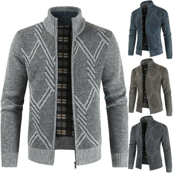 Mens Plain Formell Blazer Slim Fit långärmad jacka rockar Dark Grey XL