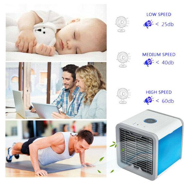 Mini Air Cooler 7 typer LED-konvertering av ljusläge Sweet Sleep As pics