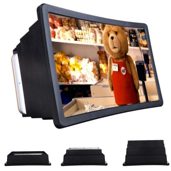 Förstärkare för visning av mobiltelefonskärm Clear Ture Portable
