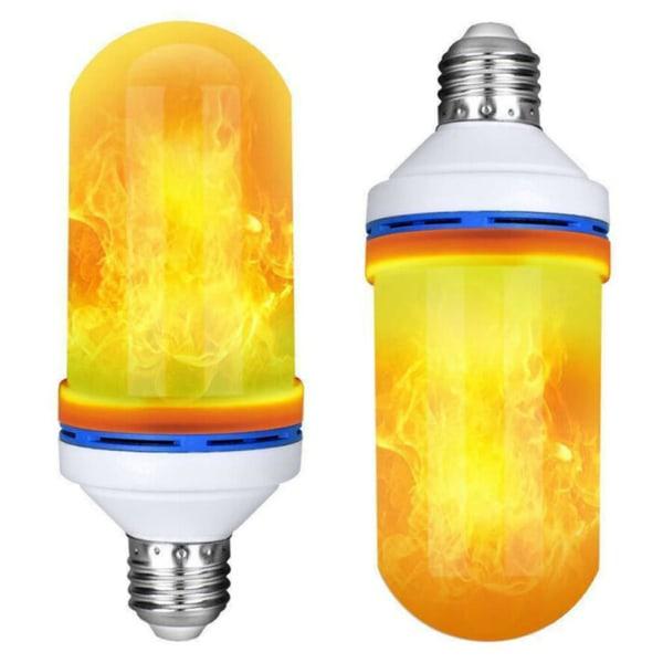 Party dekoration ljus Simulering Flame Lights romantisk lampa E27