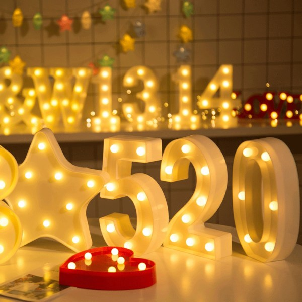 Party Digital modell LEN nattlampa heminredning lampa gåvor 4