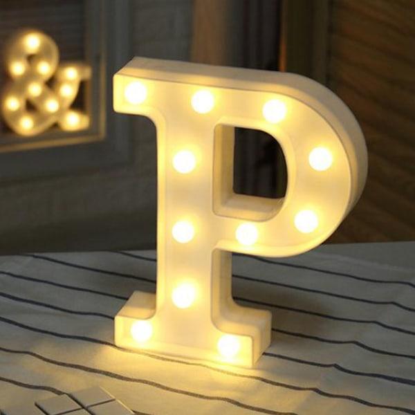 Party Letter Symbol LEN Night Light Heminredning Light Presenter P
