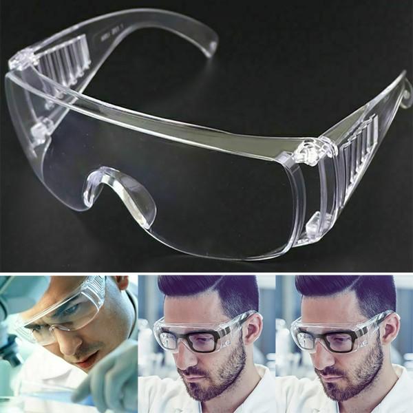 Säkerhet Transparenta skyddsglasögon Hälsovård Ögonvård
