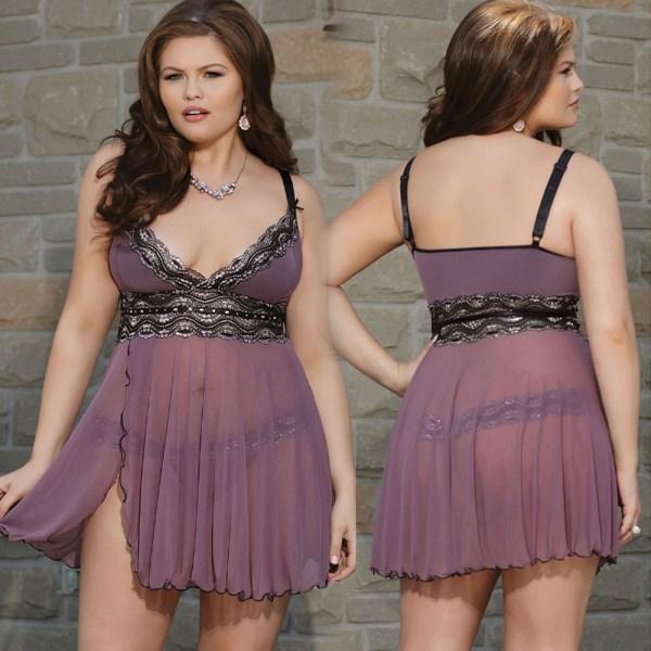 Genomskinliga Bifurcated Mesh kjol hängslen justerbara kvinnor As pics 4XL